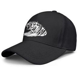 Chapéu de tigre branco on-line-Preto branco tigre preto mens e mulheres camionista cap design equipado golf legal vintage bonito elegante personalizado chapéus
