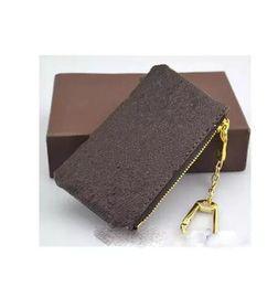 4 cores CHAVE BOLSA Damier couro detém alta qualidade famoso clássico mulheres designer chave titular moeda bolsa de couro pequeno Carteiras Chave de Fornecedores de mochilas de carteiras de carteiras