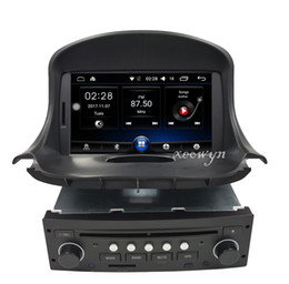2019 wifi hd video mp3 mp4 player Quad Core Android 6.0 Car DVD GPS para PEUGEOT 206 206cc Navegación, Bluetooth, Radio, IPOD, CAN-BUS, Estéreo, unidad principal, Audio, Video