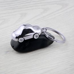 mitsubishi button key fob Rabatt GX-029 Metall Auto-Styling Schlüsselanhänger Schlüsselhalter Autoschlüsselanhänger Car Shape Keyring