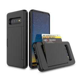 2019 custodia antiurto grand prime per Samsung Galaxy A7 2018 A9 A6 Plus J2 Prime G530 Grand Case con supporto per slot per schede e custodia protettiva antiurto Kickstand custodia antiurto grand prime economici