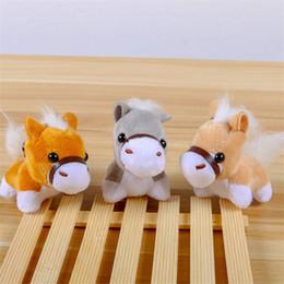 juguetes de peluche de pony Rebajas potro de la historieta bolsa colgante de felpa caballo llavero colgando muñeca de juguete de felpa mejores juguetes para niños regalo de los niños