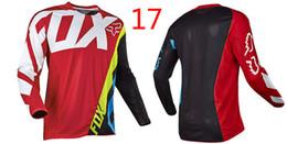 Le moins cher Vêtement Vélo Série Jersey Orange T-shirt T-shirt Fox TLD ? partir de fabricateur