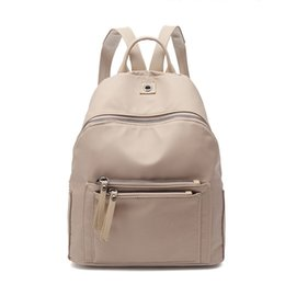 fc5e258fe812 Women Backpack Nylon Casual College Bookbag Female Retro Stylish Daily  Travel Bags For School Teenage Girls Backpack Amz1215