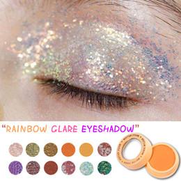 Pó de pérola natural on-line-Magia Nation 12 cores de sombras Maquiagem Pó Monochrome Sombra em Pó Make Up engraxar os Pearl Powder Palette Eyeshadow