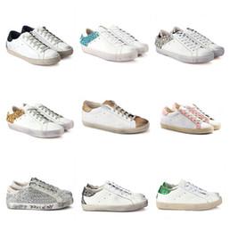 Argentina GGDB Nueva llegada de moda hombres mujeres golden goose zapatos casuales diseñador de lujo zapatillas de deporte de calidad superior bordado de cuero genuino Suministro