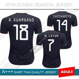 e6dca7e7e jersey de fútbol de mexico lejos Rebajas 2019 México CCCF Gold Cup Soccer  Jersey 19 20