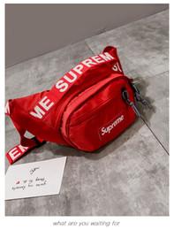 sacos de bolso de homens de marca Desconto 2019 New homens do desenhista mulheres PU bolsa de ombro bolsos Impresso embreagem Messenger Bag marca sacos de moda peito Lazer saco SUPR bolsa
