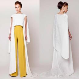 Specail Design Vestidos 2019 New Couture Evening Dresses Pants Suits Floor  Length Fashion Formal Evening Gowns vestidos de novia 928d5b4c7aa6