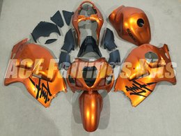 99 hayabusa injection mold Promo Codes - New ABS motorbike Fairings Kits+Tank cover Fit For SUZUKI Hayabusa GSXR1300 97 98 99 00 01 02 03 04 05 06 07 GSXR1300 1999-2007 set orange