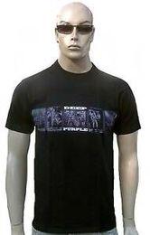 Foto a colori viola online-Rare DEEP PURPLE Official Tour 2008 Band Photo Ro2019 Star Concert T-Shirt g.M