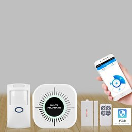 2019 sensor pir piricular Sem fio Wi-Fi Smart Home Casa Segurança Escritório de alarme contra roubo Kit Sistemas