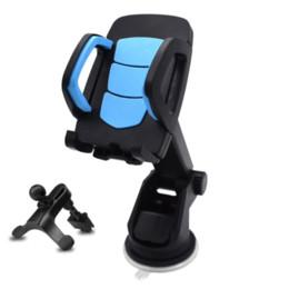 gps cradle holder Rabatt Autotelefonhalterung Universal Autotelefonhalter Armaturenbrett Windschutzscheibe Starker Stick saugen Auto GPS-Station für iPhone Samsung und mehr