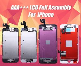 2019 kameramodul iphone 5s Schöne qualität lcd full assembly für iphone 5 s 5 5c se 6 touch glas display lcd modul digitizer ersatz + home button + frontkamera ypf27 günstig kameramodul iphone 5s
