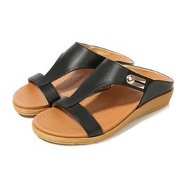 Bohemian Flat Shoes National Style Sandals Spring Metal Buckle Round Head Sandals Roman Sandals Women s Shoes jooyoo