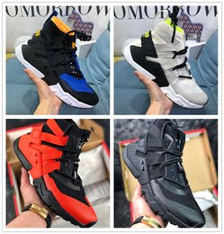 Botas de huarache online-Venta caliente HUARACHE GRIPP QS Zapatos para correr Hombres Huaraches GRIPP QS X Acronym City MID Boots Sneakers tamaño US 7-11