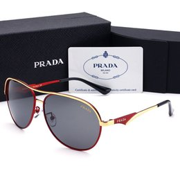 woman polarized glasses Coupons - Designer Sunglasses Luxury Sunglasses Designer Glass for Mens Adumbral Glasses UV400 with Box High Quality Brand P 4 Colors 2019 New