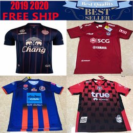 Ligue de football thai en Ligne-2019 2020 Pays de la Thaïlande Buriram United FC Maillot de football à domicile 19 20 Luis Santo S. Jaided Maillot Thai Football League