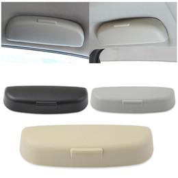 2020 portador mitsubishi Confiável Sunglasses Car Holder Box Case Óculos de armazenamento para Mitsubishi Lancer Asx Outlander Pajero Sunglasses caso portador mitsubishi barato