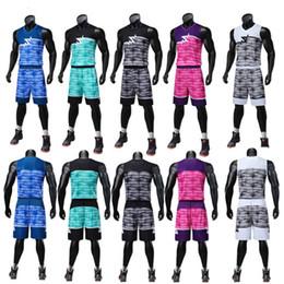 2019 basquetebol impresso personalizado Homens de Tênis de basquete Personalizado Impresso Equipe de Competição de Jersey Roupas de Verão Seco Solto-Respirável Estudante Esportes colete basquetebol impresso personalizado barato