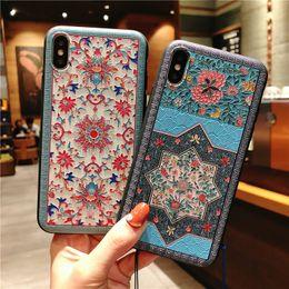 Huawei handys chinesisch online-Butike iphonexs maximales iphonex Falloberteil Palastblumenquasten-Handyfall Samsung Huawei OPPOR vivo Abdeckung 224 der chinesischen Art