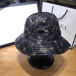 2019 cappelli di paglia ricamati Inverno giù il cappello cotone caldo del pescatore, anteriore e posteriore, super top bella