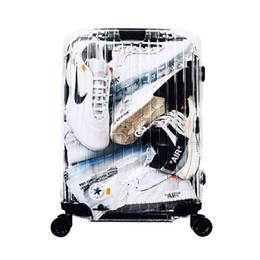 Nouvelle valise transparente, boîte d'embarquement de 20