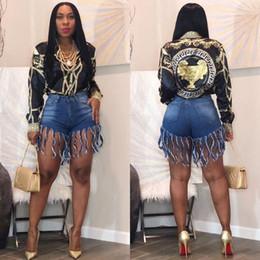 plus größe blue jeans shorts Rabatt 2019 hohe Taille plus Größe Frauen Jeans Denim Shorts beiläufige Art und Weise Blue Beach Wear Streetwear Frauen-Verein-Partei Bodycon Short