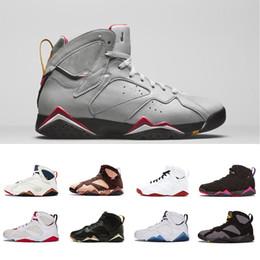 Zapatos de baloncesto n7 online-7 zapatos de baloncesto para hombre Mujeres Púrpura UNC Burdeos Olímpico Panton Dinero puro Nada Raptor N7 Zapatos Zapatillas deportivas de entrenador 40-47
