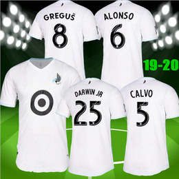 0c08020ae68 new Thai quality 2019 2020 MLS Minnesota United FC soccer jersey 19 20  ALONSO CALVO DARWIN JR OPARA jersey football shirt SIZE S-XXL