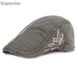 uomini Ditpossible cappello del cotone lettere berretti regolabile ricamo tappi per le donne degli uomini Gorras berreto boina da