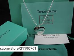 amerikanische goldkette 24k Rabatt liruoxi1314 Hohe Diamant-Silberhalskette Silberwaren-Metallkristall Herz-förmiger hängender Halskettenschmucksachen