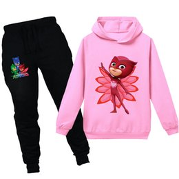 2020 Kids Champion Letter Clothing Set Long Sleeve O Neck Hoodies Sweatshirt + Pants Trousers Two Piece Outfits Autumn Children Sports Suit Best From