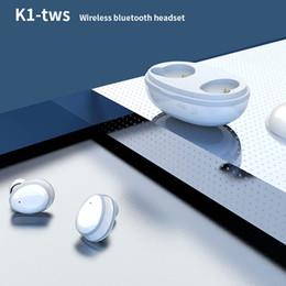 2019 k1 téléphones cellulaires Nouveau contact dans l'oreille TWS sans fil Bluetooth casque 5.0 binaural casque de musique stéréo K1 Cellulaire Téléphone Écouteurs promotion k1 téléphones cellulaires