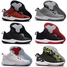 2019 hohe qualität CP3.XII Chris Paul 12 Ab Schwarz Rot Weiß Basketball Schuhe Für Herren Kinder Houston Fans 12 s Günstige Sport Turnschuhe von Fabrikanten