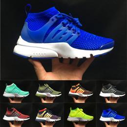 2019 Presto Acronym Air Mid Top Zapatillas de deporte Moda azul Limegreen Lava caliente Zapatillas para correr Para hombre Zapatillas de deporte Zapatillas de deporte casuales desde fabricantes