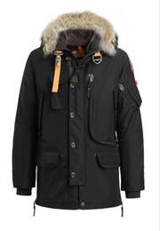 Высокое качество горячей продажи зима вниз пальто роскошный парашютистов мужской Кадьяк пуховик толстовки мехом Модные зимние пальто теплая куртка supplier xs winter coats от Поставщики xs зимние пальто