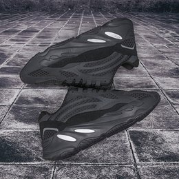 bolsas de canoa impermeable al por mayor Rebajas 2019 700 diseñadores corredor de la onda de malva zapatos para correr de calidad superior de los hombres de las mujeres color de costura baloncesto de los zapatosyeezyYeezys350