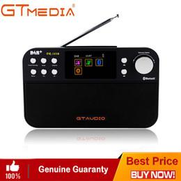 radio sensible Promotion Radio FM numérique D GT + Media Radio DR-103B numérique DAB + Stero Pour UK EU avec écran de couleur intégré pour haut-parleur Bluetooth