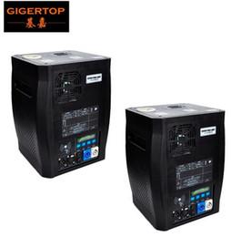 Affichage des étapes en Ligne-Gigertop 2 unités Sparkular 2-5M DMX 512 Machine d'étincelle à froid Étincelle de machine Feu d'artifice LCD Affichage de la prise d'alimentation