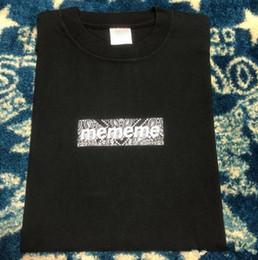 faixa de solteira de ferro Desconto 20SS Box Logo Bandana Tee Homens Mulheres Casual Designer Rua Skate manga curta Verão respirável T-shirt