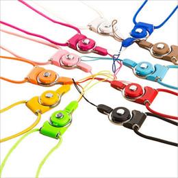 seil lanyard für handy Rabatt Handy Shell Lanyard kann in zwei Teile geteilt werden, um hängenden Hals langes Seil hängenden Hals Kette rotierenden Lanyard Brust Schlüssel Nylon Seil hängen