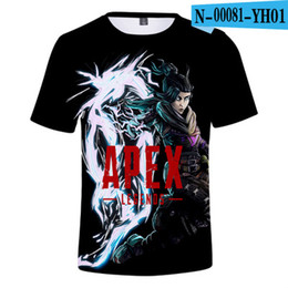 tommy shirts Sconti T-shirt Frdun Tommy 3D Apex Legends Big Escape Game Uomo 2019 T-Shirt breve moda esclusiva Uomo 3D New Game T-Shirt APXE Hero