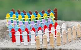 2019 miniature in vendita Mini recinto in miniatura piccola barriera in legno in miniatura decorazioni da giardino fatato recinzioni in miniatura per giardini piccole barriere vendita calda miniature in vendita economici