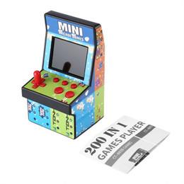 200 En 1 Mini Arcade De Poche 8 Console De Jeu NDA Unique Bascule Simple Bascule Console De Jeu Console Cadeau pour Enfants Jouets Éducatifs ? partir de fabricateur