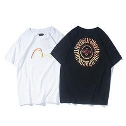 2019 рубашки поло для мужчин Evisu Brand New Мужские Дизайнерские Футболки Случайные Мужские Летние Короткие Рукава Высокого Качества Хип-Хоп Мужчины Женщины Поло дешево рубашки поло для мужчин