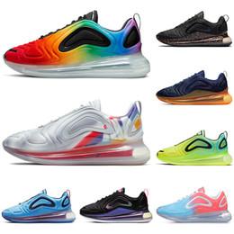 nike air max 720 Nouvelles chaussures de course 720 pour hommes femmes Northern Lights Pink TRIPLE BLACK CARBON GREY SUNRISE baskets sport baskets ? partir de fabricateur