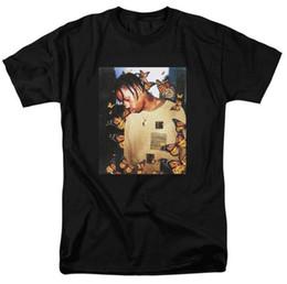 Couvre-papillons en Ligne-Travis Scott Butterfly T-shirt Effet Rap Music Album Couverture hommes et femmes Top T-shirt matériel Astroworld Face