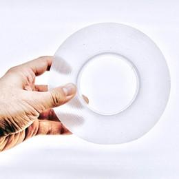 1 M 3 M 5 M Cinta de agarre de gel de doble cara Suave antideslizante Etiqueta engomada del refrigerador de la pared Nano Adhesivo fuerte Oficina de la escuela Mejoras para el hogar desde fabricantes