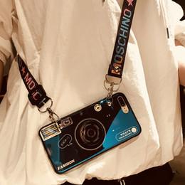 брекет Скидка Наклонный чехол для iPhone 6 7 8 X XR XS MAX Чехол для телефона с ремешком для женщины